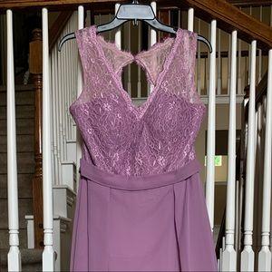 Azazie Bridesmaid Dress Britney in Wisteria